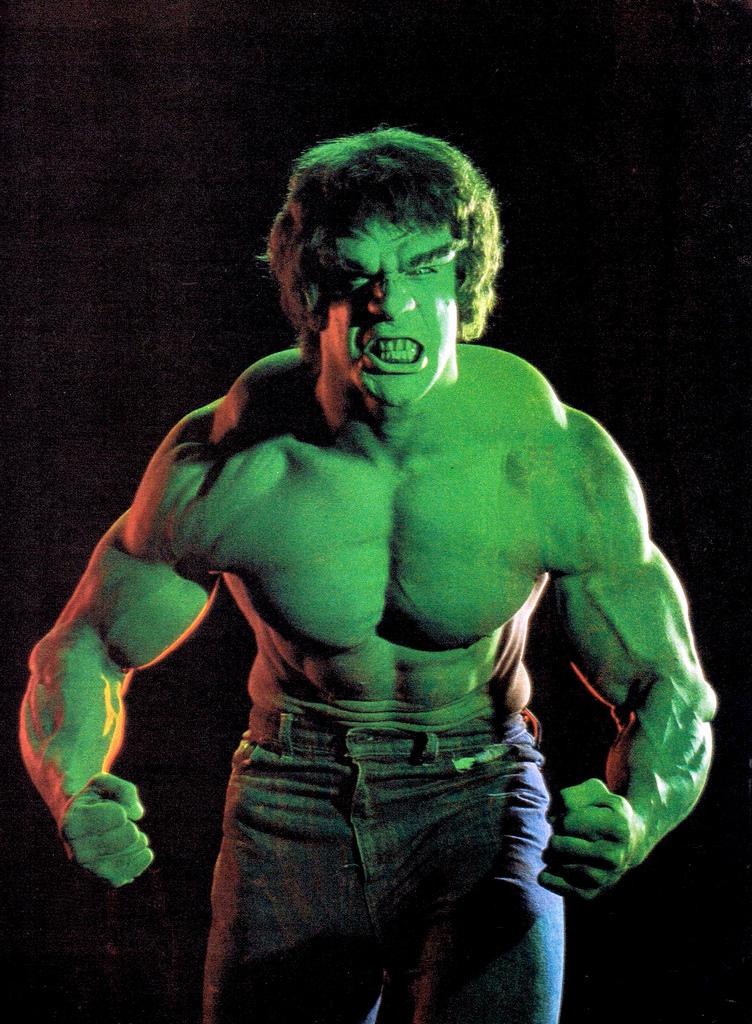 Lou Ferrigno Incredible Hulk